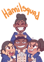 Hamilsquad by Toxic-Delights