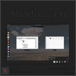 Shadow 3.6 - Gnome Shell Theme by AKLP