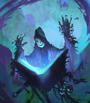 Book of Vyle Darkness by Mattinian