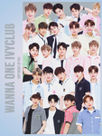 WANNA ONE IVY CLUB 24P png by hyukhee05