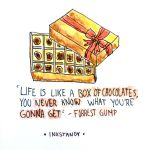 Forrest Gump Quote by Inkstandy