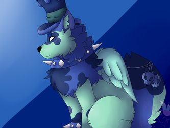 Mercuree II Request (Animal jam) by merrcats