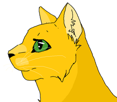 Firestar (In 7 minutes) by glacierpaws