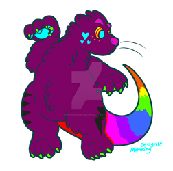 sparkle pet adoptable #7 | OPEN by MonokingDraws