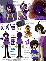 Michael Afton reference remake by One-hell-bunny