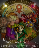 You've met with a terrible fate, haven't you? by Astragami-sama