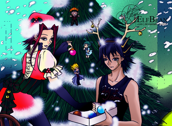Yugioh 5Ds @ A Signer's Christmas by ElfBean