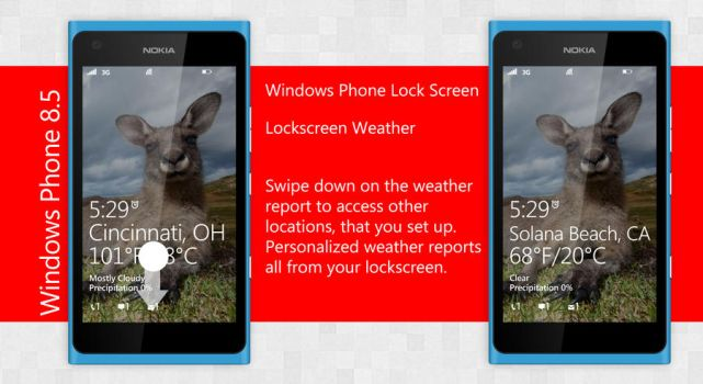 4. Windows Phone 8.5 Live Lockscreen by ShadyLaneDesigns