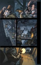 WoW Curse of the Worgen pg 10 by Tonywash