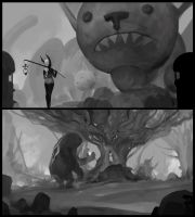 Environment Sketches 8-30-2017 by JohnoftheNorth