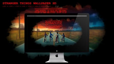 Stranger Things Wallpaper HD by BeAware8