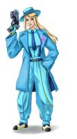 Zoot Suit Samus by Defy-Gravity-42