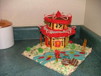 Gingerbread Pagoda by rajiara