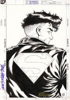 SUPERBOY DC Style Guide Unused Art - Grummett/DH by DRHazlewood