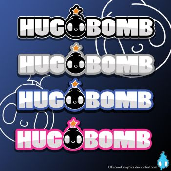 Hug-Bomb Logo concepts idea 1 by ObscureGraphics