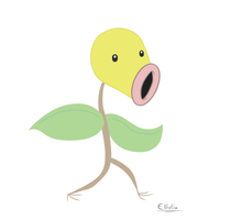 Bellsprout animated