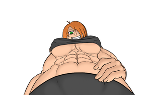muscle girl pov by pablopyro