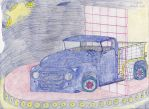 Kid Stuff--'50s pickup with wireframe! by Spex84