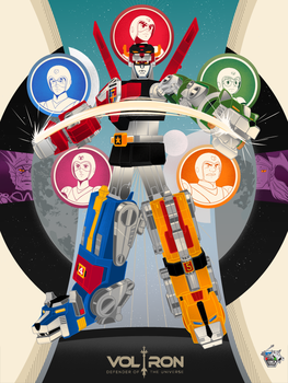 Voltron 30th Anniversary by Aseo