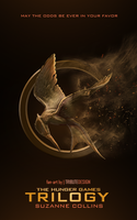 The Hunger Games Trilogy book cover by TributeDesign