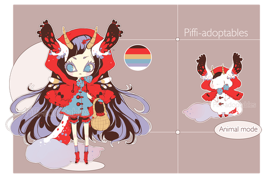 [CLOSED] ADOPT Auction 04 - Aloise species 01 by Piffi-sisters