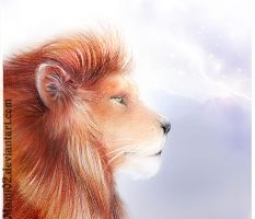 The Lion of Narnia by Mami02