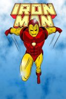 Iron Man in colour by MikeMcelwee