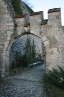 Castle Entrance2 by NHuval-stock