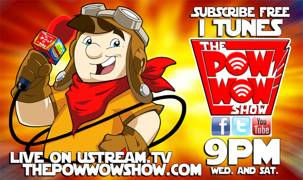 The Pow Wow Show banner by galaxykidnet