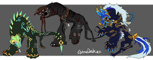 GrimaDraken Auction (close) by onigiryStuff
