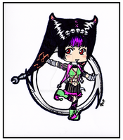 Tira Crow SC4 chibi by Goth-Virgy
