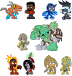 Chibi Killer Instinct: Season 2 by LegendaryFrog