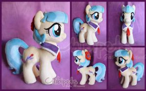 Coco Pommel Custom Plush by Chibi-pets