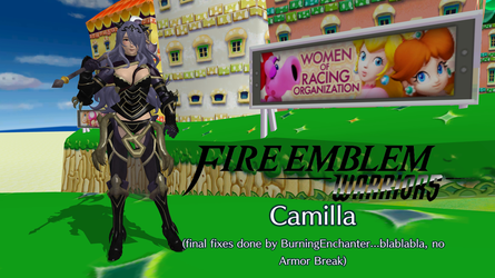 Fire Emblem Warriors - Camilla (updated) by FatalitySonic2