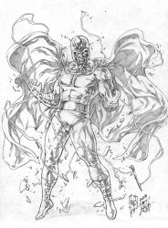 Magneto by caananwhite