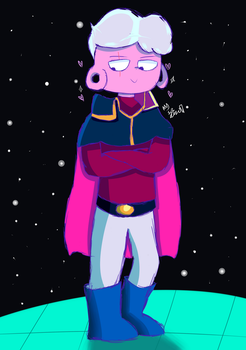 Space Bab by SirQueso