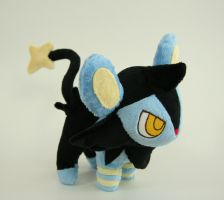 Luxio Plush by Yukamina-Plushies