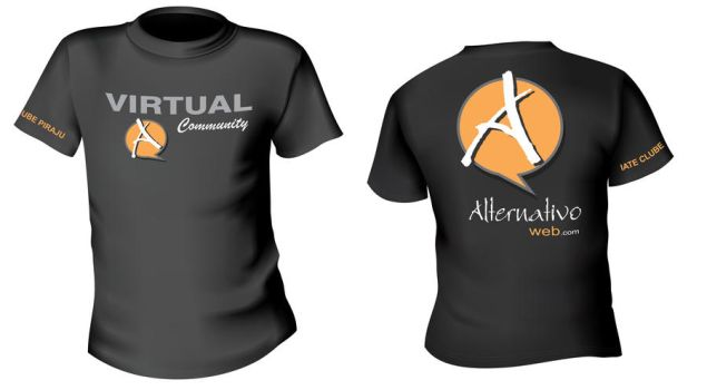 Camiseta Alternativo Web by battiston