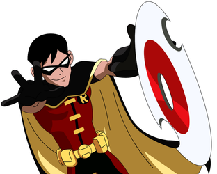 Robin (Dick Greyson) - Young Justice S1 by 1984neptune