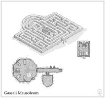 Gassali Mausoleum by Ashlerb