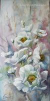 Wild roses-Impression by Lidmar