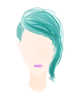 i'm only good at drawing hair by Asian-FACE