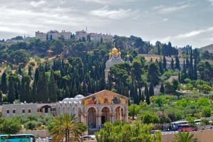 Mount Of Olives by FictionalMind