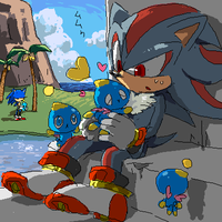 sonic - chao to shadow by ruger666