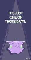 It's just one of those days: Goomy by lunar-foundre