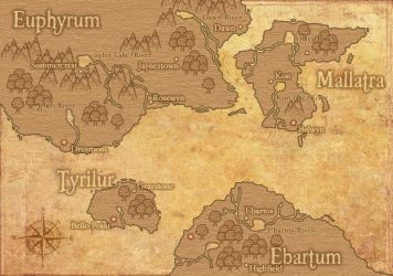 LUCARUS World Map by AfterField
