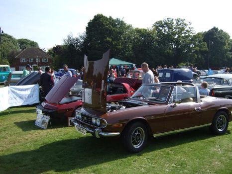 classic cars line up watford 3 by Sceptre63