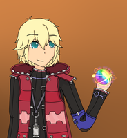 Shulk (Super Smash Bros WiiU) by LuckyJiku