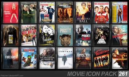 Movie Icon Pack 261 by FirstLine1
