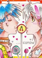 Lollies and Candy - ACEO 063 by Arthay